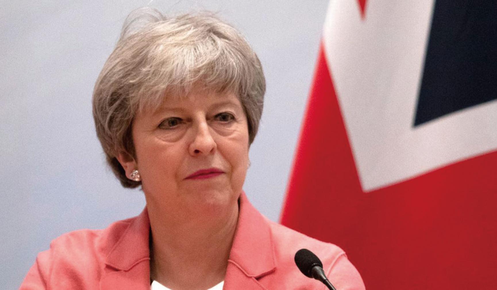 文翠珊2月26日表示,如果國會再次否決她與歐盟達成的退歐協議,她將同意議會分別就是否硬脫歐和延遲脫歐期限進行表決。(Getty Image)