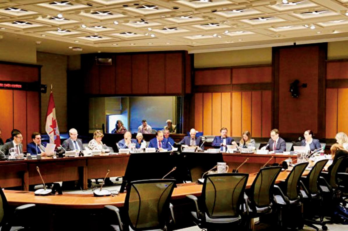 經過兩天的聽證,加拿大國會外交和國際發展常設委員會2月27日下午修改並全體通過S-240號法案。(任僑生/大紀元)
