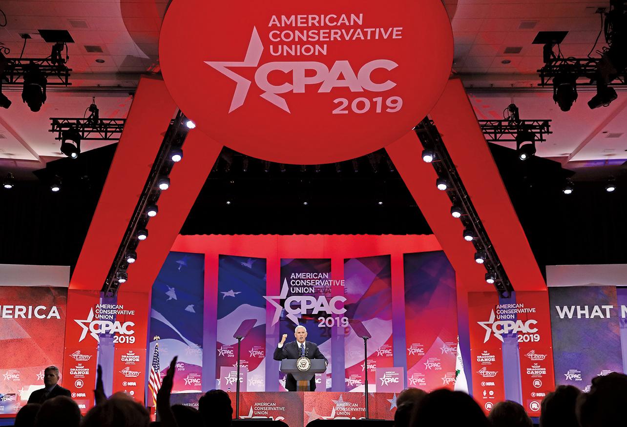 保守派政治行動年度大會是美國最大的保守派聚會,2月27日起在華府近郊展開。(Getty Images)