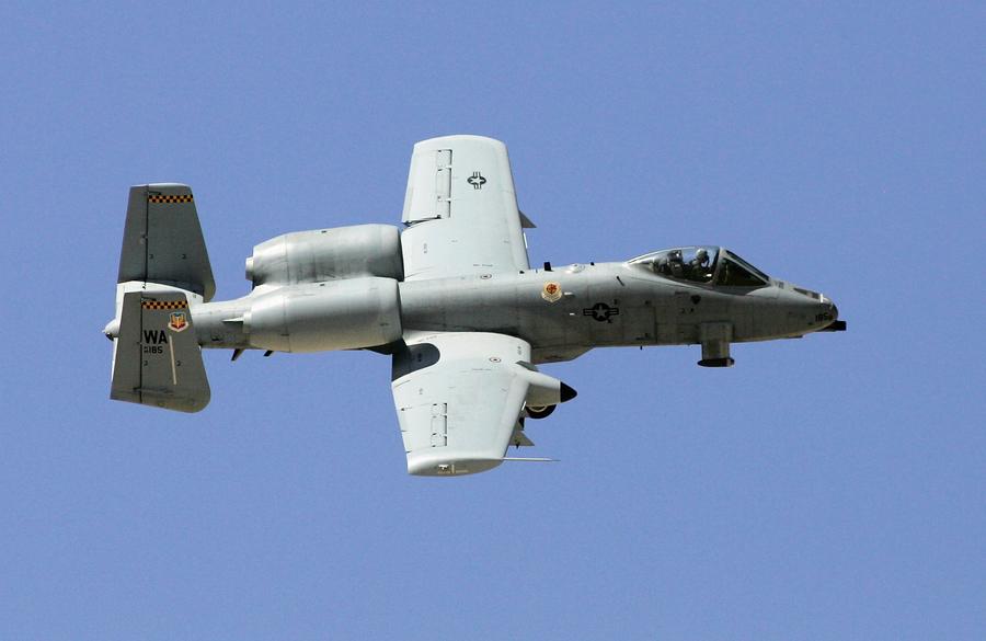 中彈幾百次 A-10攻擊機仍安全返航