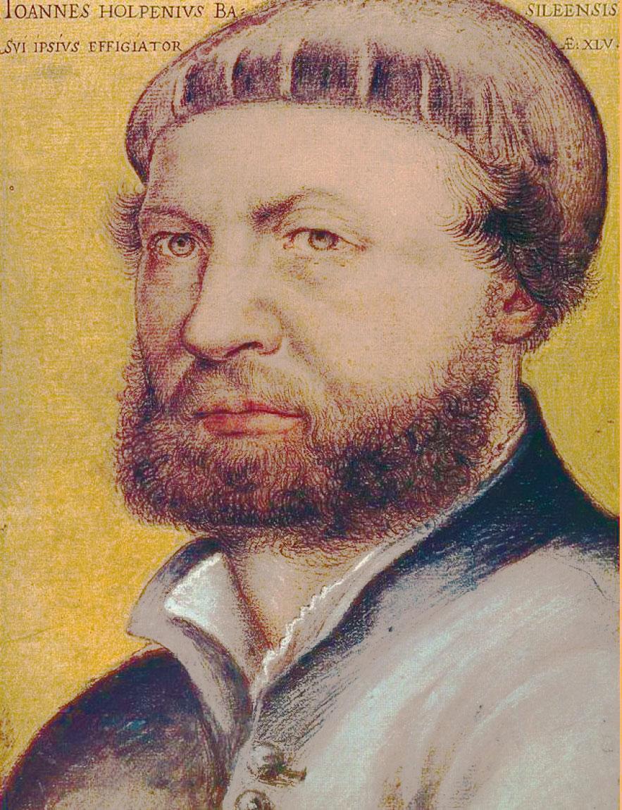 文藝復興時期最偉大的肖像畫家之一 霍爾班