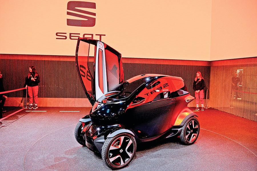西雅特展示歐洲首輛5G概念車 汽車業可望成5G大客戶