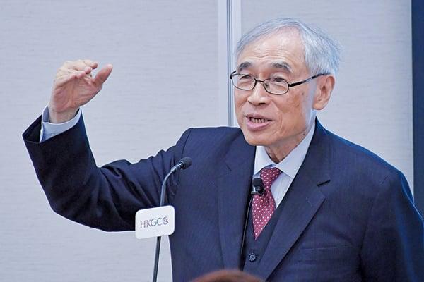中文大學前校長、經濟學家劉遵義。(郭威利/大紀元)