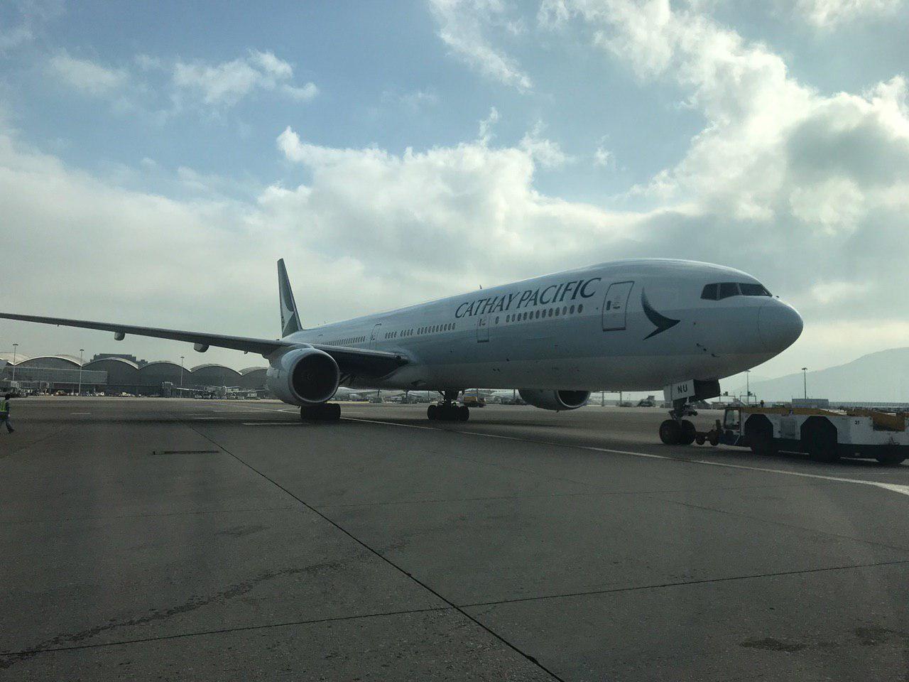 國泰航空確認該公司正積極商談一項涉及香港快運的收購事項。 (林怡/大紀元)