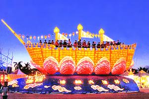台灣燈會佳評如潮 「法船」花燈璀璨吸睛