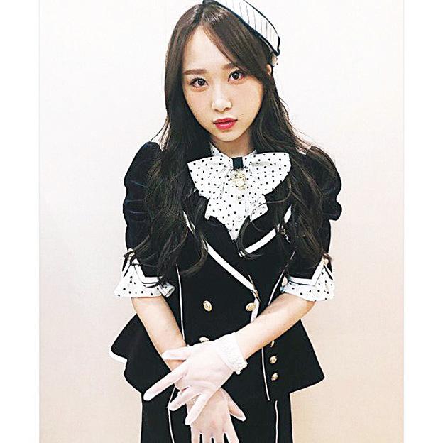 高橋朱里為圓夢,簽約Woollim加入韓女團。(高橋朱里IG圖片)