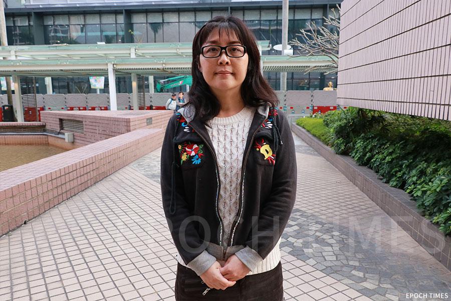 香港環保電影展總策劃李嘉言(Tracy)。(陳仲明/大紀元)