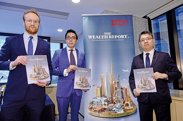 全球最受富豪歡迎城市 香港排第三