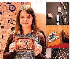 波蘭女孩放棄高薪  終成國寶級插畫師