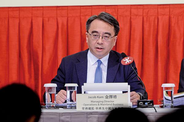 即將接任行政總裁一職的常務總監金澤培表示,希望可以早日安全地開通沙中線。(宋碧龍/大紀元)