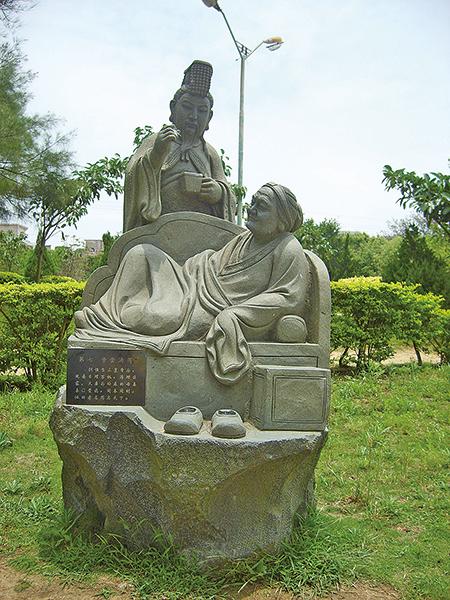 親嘗湯藥的漢文帝(wikimedia)