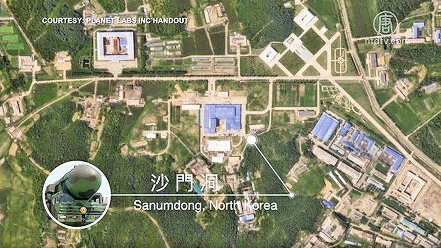 衛星捕捉北韓發射場新動向