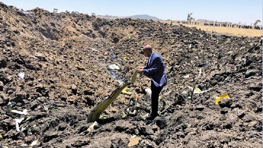 埃塞俄比亞航空客機墜毀 157人全部遇難