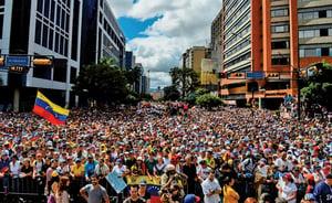 委內瑞拉大停電加劇民怨