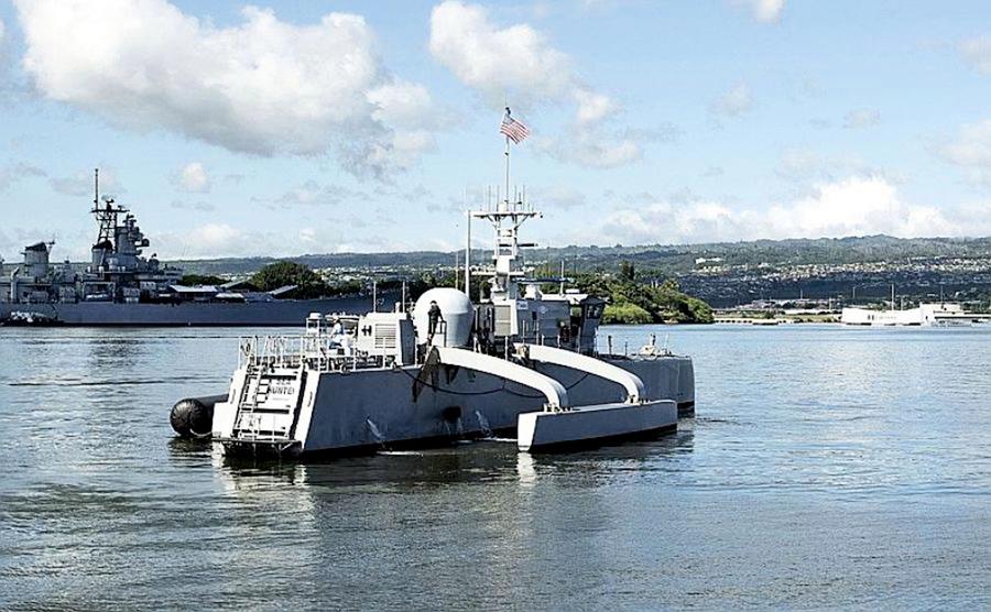 史上首次 美軍無人艦自主往返 加州與夏威夷