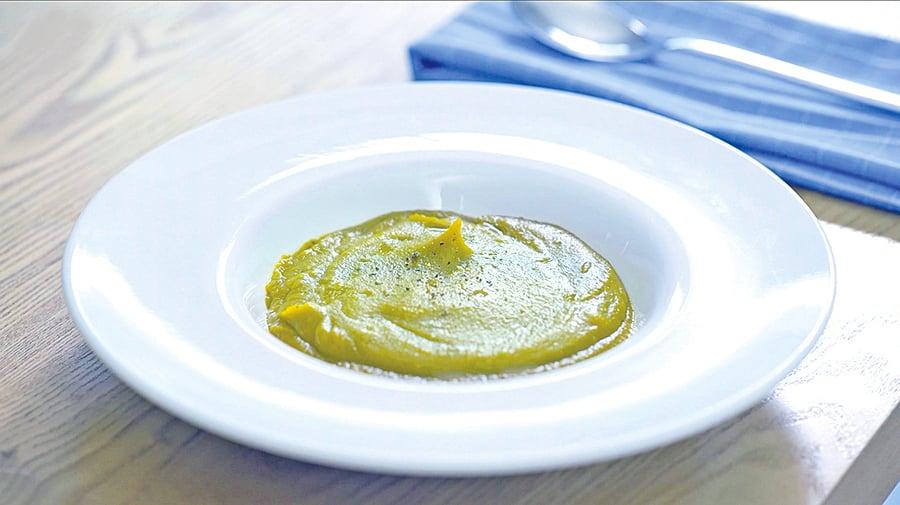 健康營養的意式南瓜湯