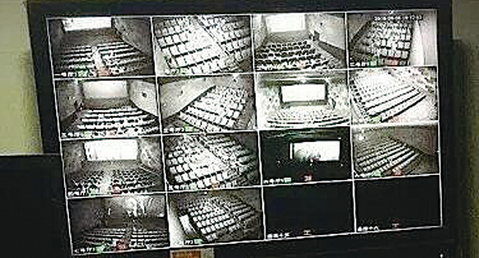 近日,有網民披露,全國電影院內的觀眾均成為中共監視對象,警方可以在數千公里外,透過監控系統,對觀眾的行動一目了然。圖為監控畫面。(網絡圖片)