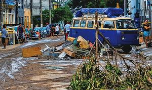 巴西聖保羅遭暴雨襲擊 災情頻傳至少12死