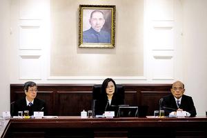 蔡英文召開國安會議 揭中共加速統台四策略