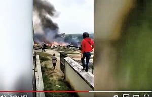一架中共軍方戰機在海南墜毀 2飛行員死亡