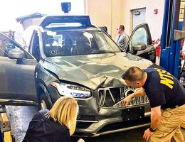 Uber全自動駕駛致死事故獲判無罪