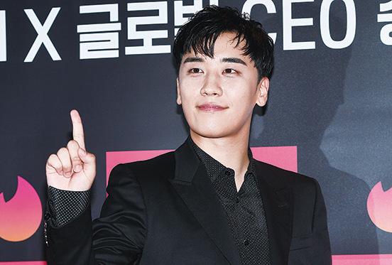韓國男團BIGBANG成員李昇炫。(資料圖片)