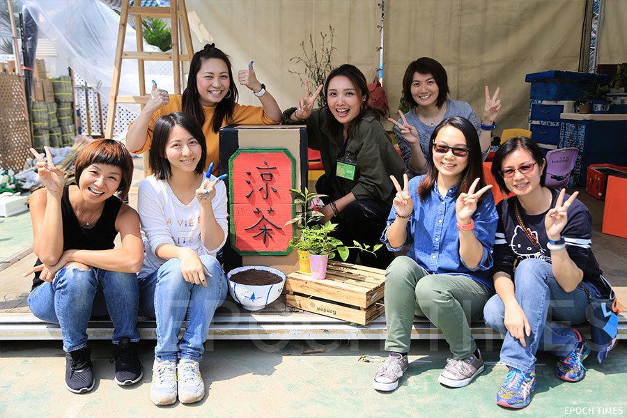 【活動速遞】花展趣味攤位「We‧Go Green童心耆創綠悠文化」