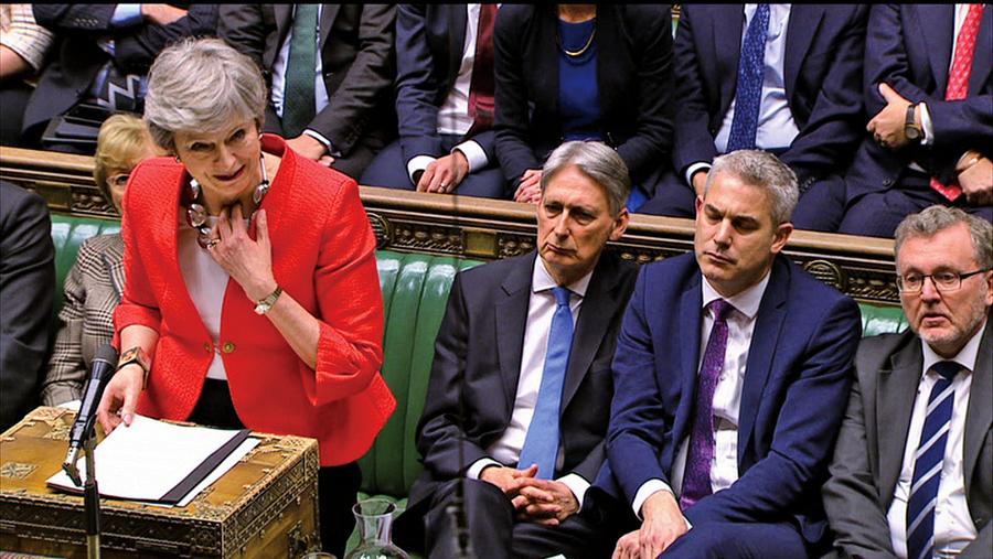 英議會再次否決脫歐協議
