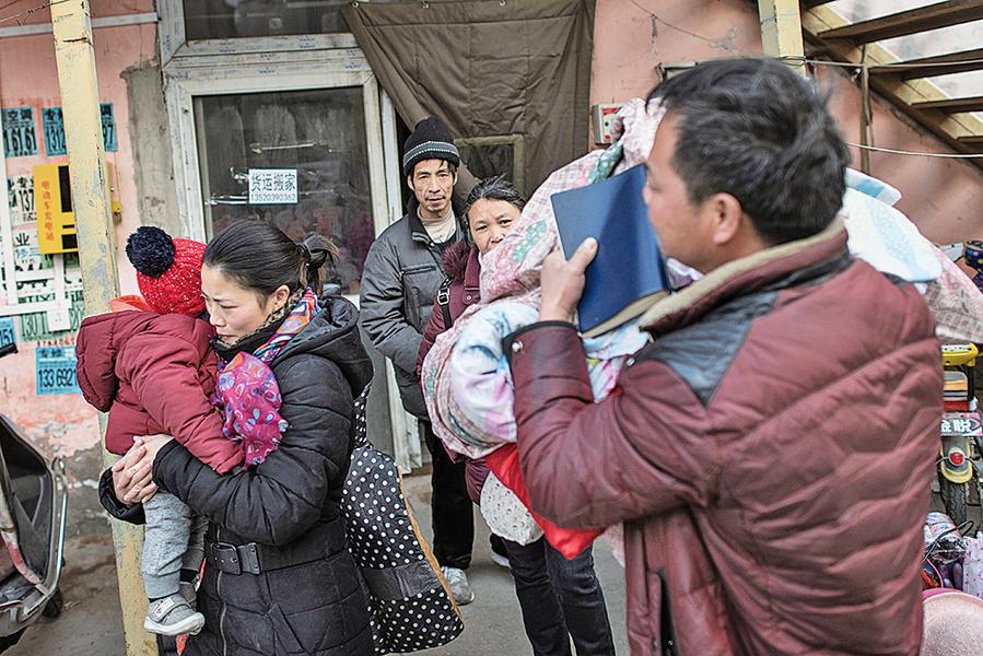 【圖片新聞】北京繼續驅趕低端人口 引發爭議