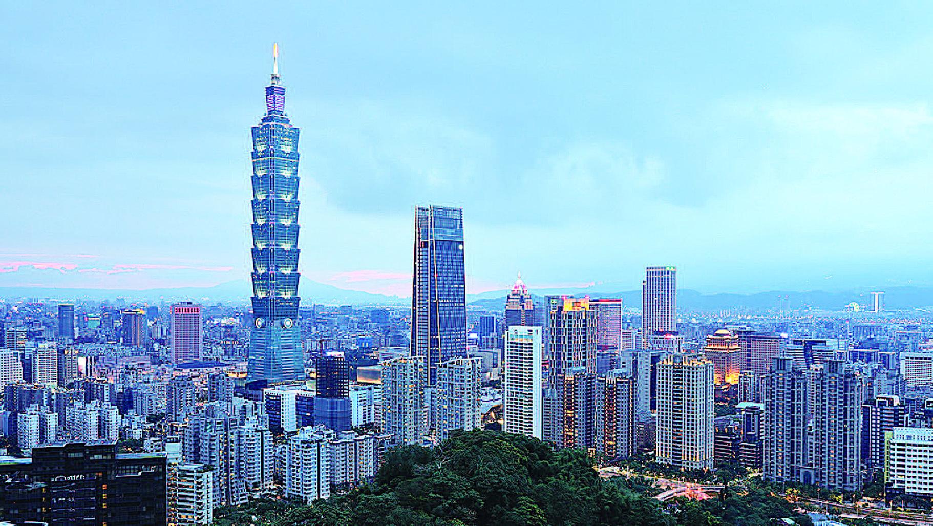 中共官員在黨文化思維的框限下,無法真正理解中共與中華民國的差異。圖為台北101 大廈。(Getty Images)