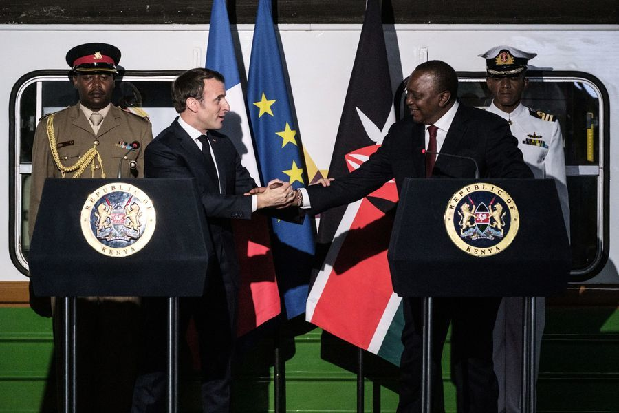 馬克龍訪問非洲三國 擬削弱中共擴張野心