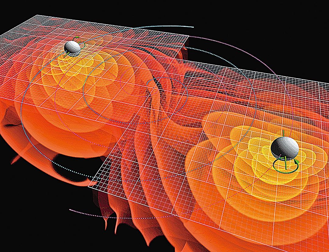 愛因斯坦100年前就在廣義相對論中預測了引力波的存在。(維基百科)