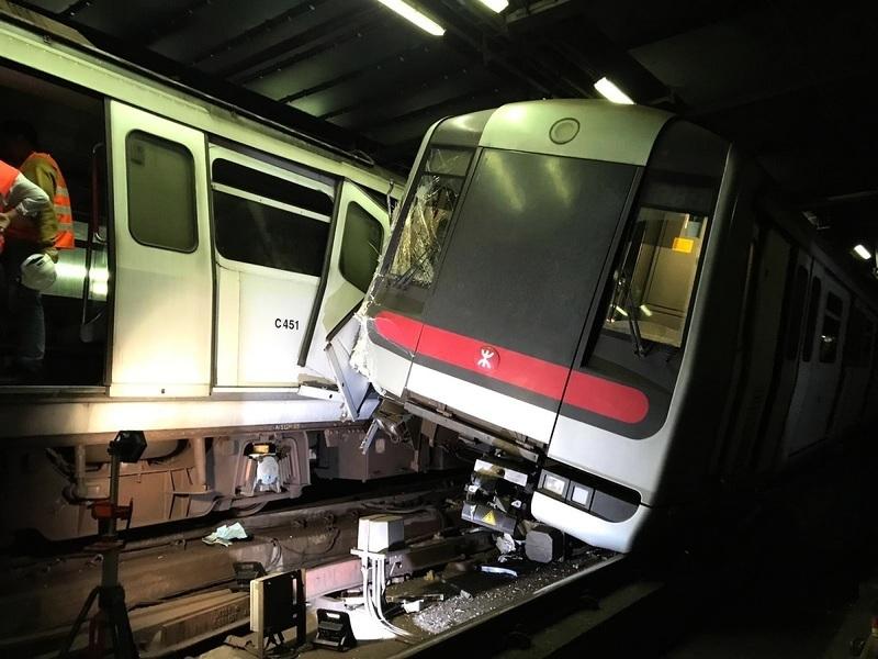 荃灣綫來往金鐘站和中環站全日暫停