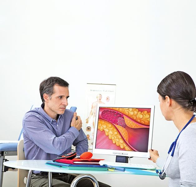 50歲後走路吃力 可能是血管出毛病