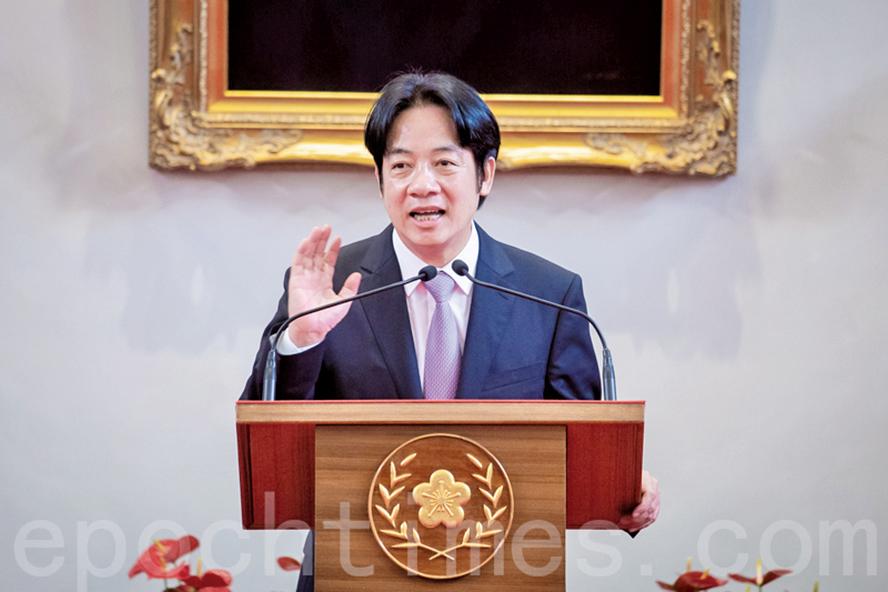 民進黨2020年總統大選黨內初選,中華民國前行政院長賴清德決定將前往登記。(大紀元)