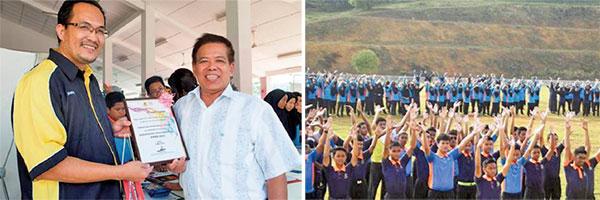 馬來西亞八百學生學煉法輪功