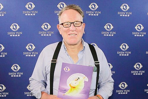 著名新西蘭作家、演說家、政治活動家Trevor Loudon(新唐人電視台)