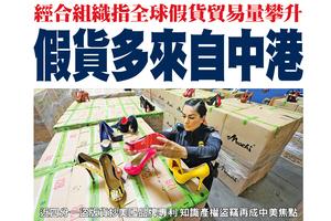 經合組織指全球假貨貿易量攀升 假貨多來自中港
