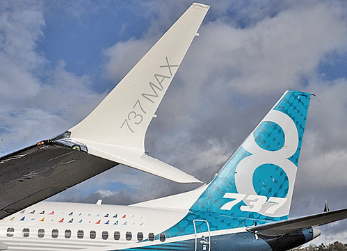 波音737 MAX 8近期兩次墜機的原因仍在調查中。(Getty Images)