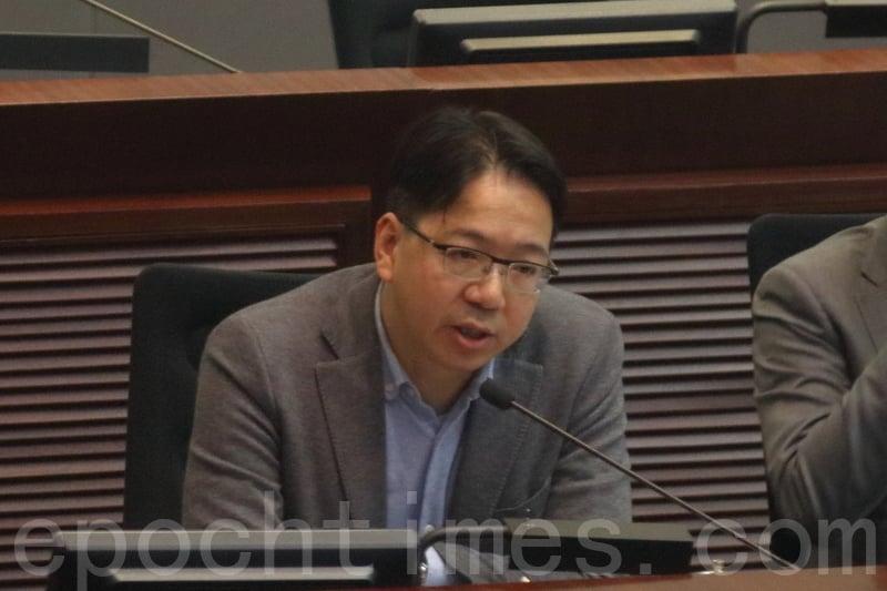 專業議政議員莫乃光擔心港府在大灣區規劃上無政策主導權,一些對港人有利政策但如不在規劃文件之中,香港會被放在很次要位置。(蔡雯文/大紀元)