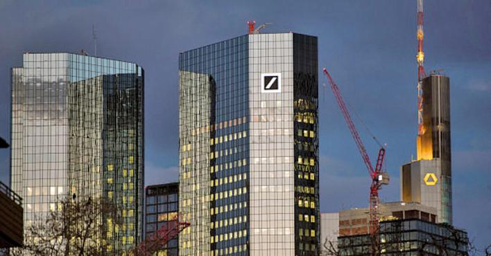 德國最大的兩家銀行——德意志銀行和商業銀行宣佈合併。(Getty Images)