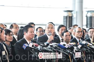高雄市長韓國瑜訪港 避談「一國兩制」