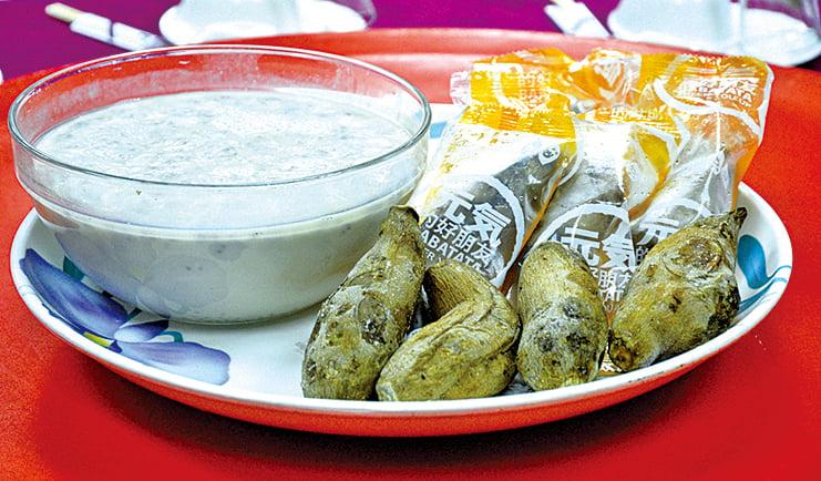甜點西米露、冰烤番薯