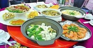 台灣辦桌文化呈現廚師特色菜