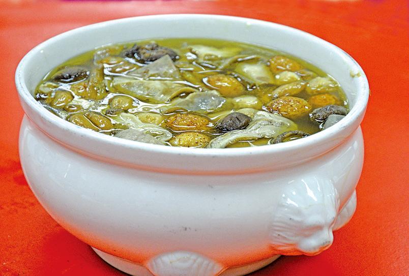 福壽雙全煲湯。