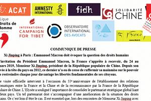 習近平訪法  人權組織籲馬克龍提人權