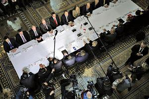 白宮公佈下兩輪 美貿易談判時間及地點