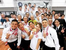 港隊東亞空手道錦標賽獲2金3銀5銅 女將劉慕裳奪第一金