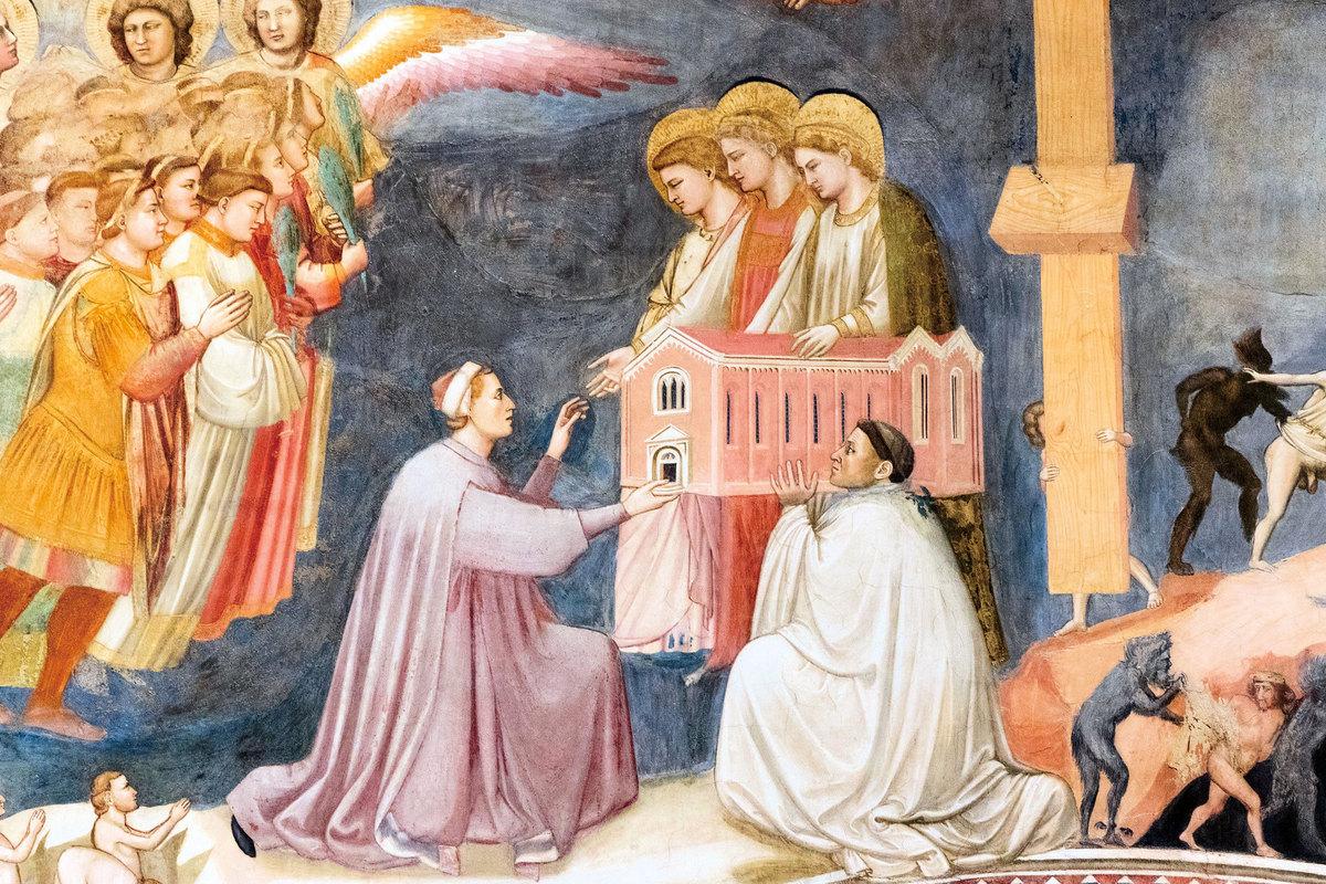斯克羅維尼禮拜堂壁畫。(Fotolia)