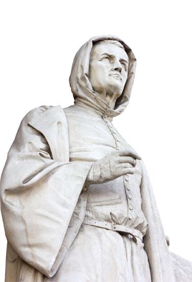 喬托雕像。(Fotolia)